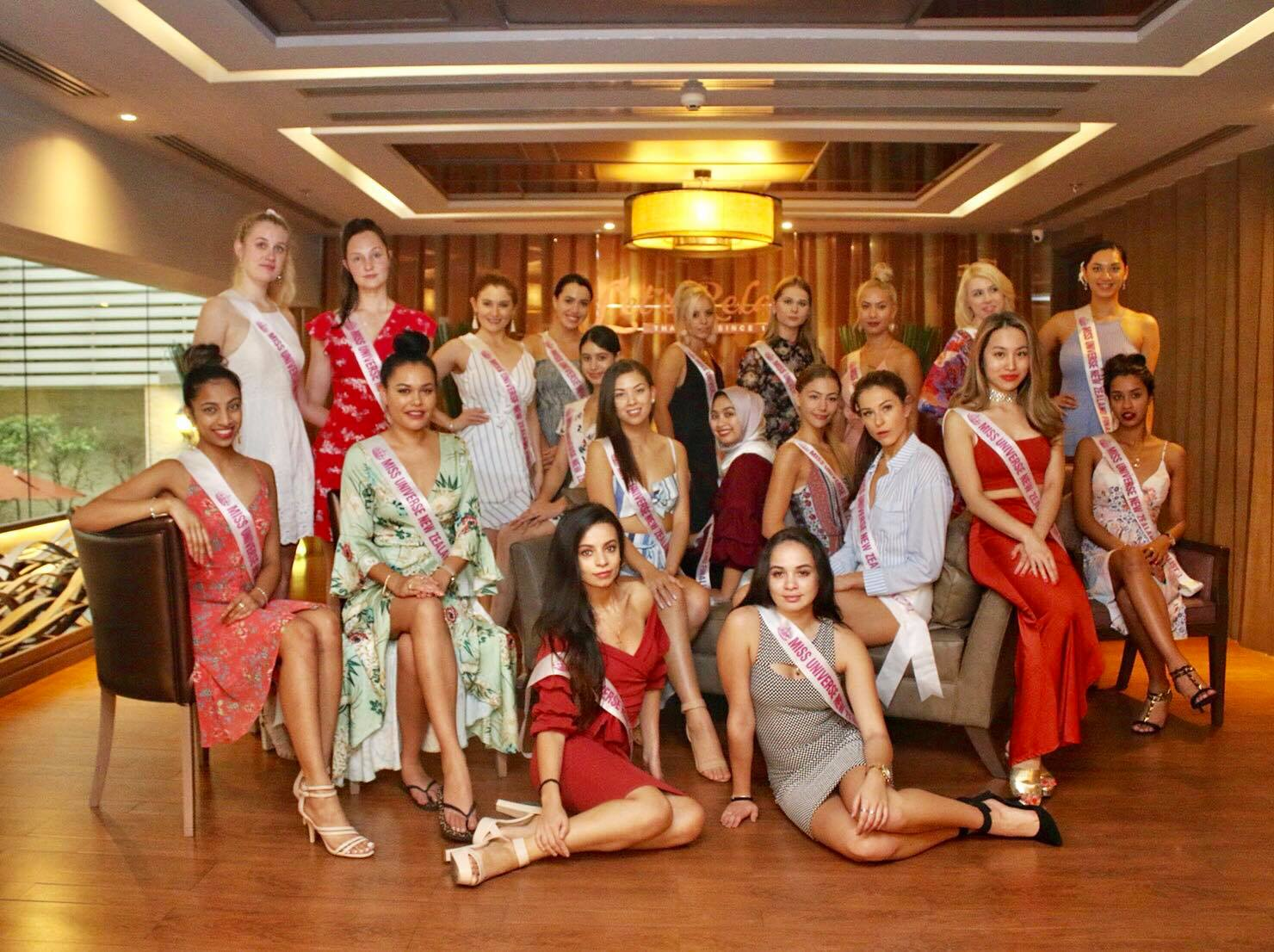 Let's Relax Spa welcomed Miss Universe New Zealand Top 20 Finalists
