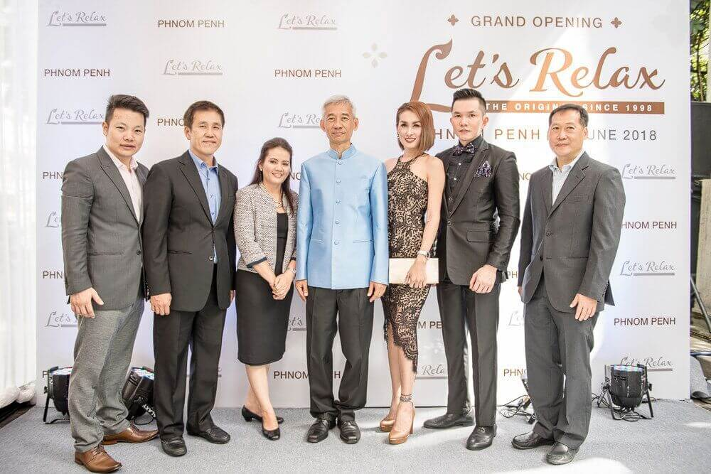 Let's Relax Spa, Preah Norodom Boulevard Embarks on its New Journey as Flagship Branch at Phnom Penh, Cambodia
