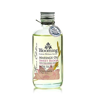 Sweet Bloom Massage Oil