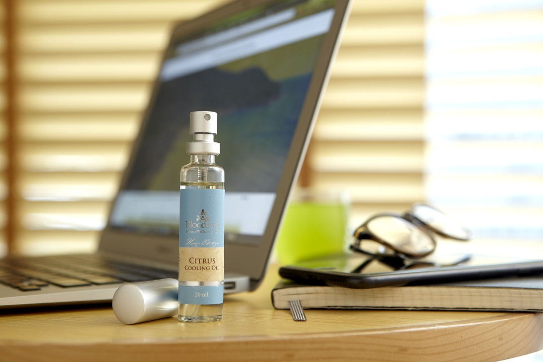 let's relax spa cooling oil how to use blooming citrus